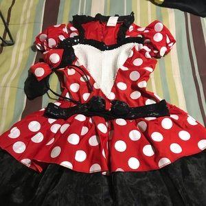 Disney Mini Mouse Costume.